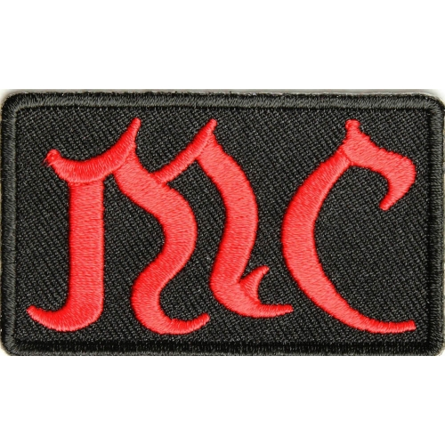ORIGINAL Biker Patch Embroidered Sew Iron on old english