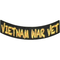 Vietnam War Vet Lower Rocker Patch | US Military Vietnam Veteran Patches