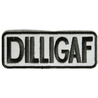 Reflective Small Dilligaf Patch | Embroidered Patches