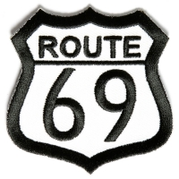 Route 69 Patch | Embroidered Biker Patches
