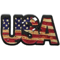 USA Vintage Patch Flag Patch | Embroidered Patches