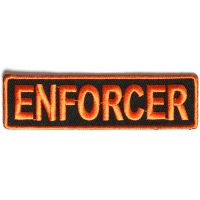 Enforcer Patch 3.5 Inch Orange