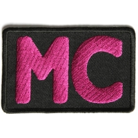 Pink MC Patch