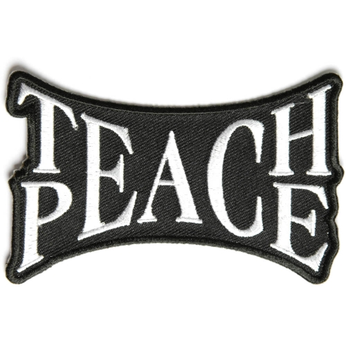 Teach Peace Patch | Peace Patches -TheCheapPlace