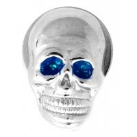 Blue Eye Skull License Plate Bolt