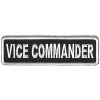 Vice Commander Patch | Embroidered Patches