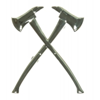 Firefighter Crossed Axes Pin
