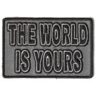 The World Is Yours Patch