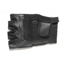 Fingerless Motorcycle Riding Gloves Black