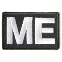 ME Patch Motorcycle Enthusiasts | Embroidered Biker Patches