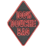 100 Percent Douche Bag Patch