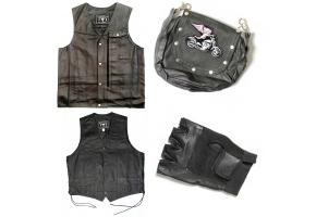 leather biker vests