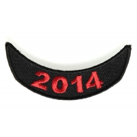 2014 Lower Rocker Patch In Red