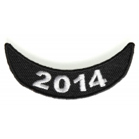 2014 Lower Rocker Patch In White