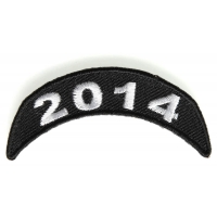 2014 Upper Rocker Patch In White
