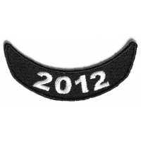 2012 Lower Rocker Patch White