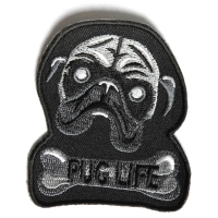 Pug Life Patch | Embroidered Patches