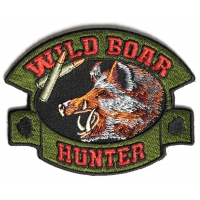 Wild Boar Hunter Patch | Embroidered Patches