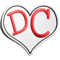 I Love DC Heart Patch | Embroidered Patches