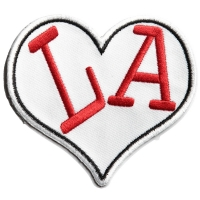 I Love LA Heart Patch | Embroidered Patches