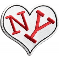 I Love NY Heart Patch | Embroidered Patches