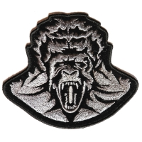 Zombie Gorilla Small Patch | Embroidered Patches