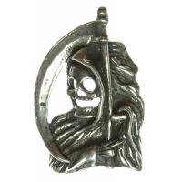 Reaper With Scythe Pin