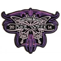 Daytona 2014 Butterfly Patch