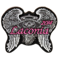 Laconia 2014 Patch Angel Wings