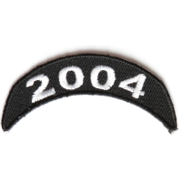 2004 Upper Rocker Patch In Black White