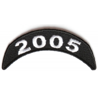 2005 Upper Rocker Patch In Black White