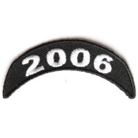 2006 Upper Rocker Patch In Black White