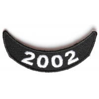 2002 Lower Rocker Patch In Black White