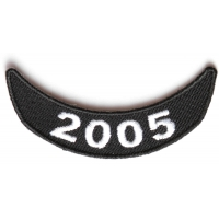 2005 Lower Rocker Patch In Black White