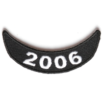 2006 Lower Rocker Patch In Black White