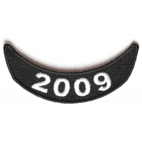2009 Lower Rocker Patch In Black White