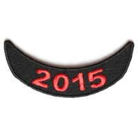 2015 Red Lower Rocker Patch