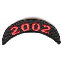 2002 Upper Year Rocker Patch In Red