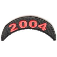 2004 Upper Year Rocker Patch In Red
