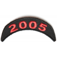 2005 Upper Year Rocker Patch In Red