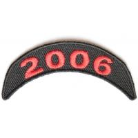 2006 Upper Year Rocker Patch In Red