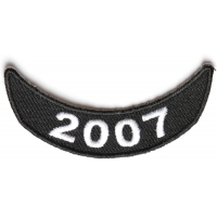 2007 Lower Rocker Patch In Black White