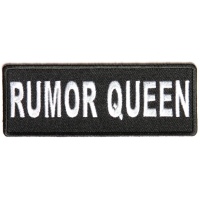 Rumor Queen Patch | Embroidered Patches