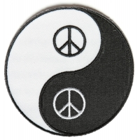 Peace Yin Yang Patch | Embroidered Patches