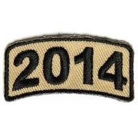 Black Desert Year Rocker Patch 2014