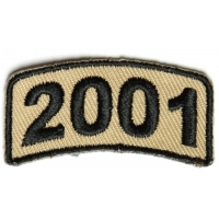 Black Desert Year Rocker Patch 2001