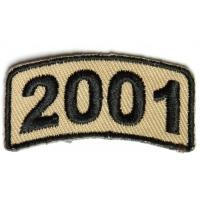 Black Desert Year Rocker Patch 2001