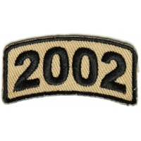 Black Desert Year Rocker Patch 2002