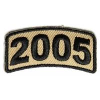 Black Desert Year Rocker Patch 2005