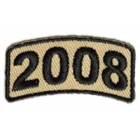 Black Desert Year Rocker Patch 2008